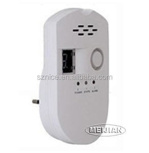 Factory price AC power Combustible natural/lpg gas leak detector alarm