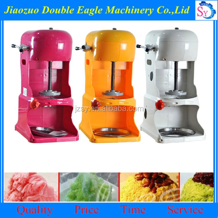 9kg/h big capacity continuous ice cream brick machine / electric ice shaver