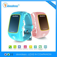 wholesale alibaba kids latest wrist watch mobile phone with micro gps tracker sim card tracker