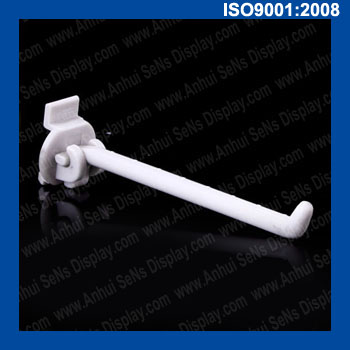 high quality plastic peg hooks for supermarket and display
