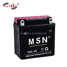 High performance motorcycle battery 12v 3ah