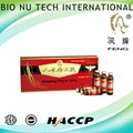 Food& Beverage GMP Cerfiticate red Ginseng Royal Jelly 10vails