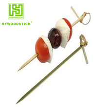 skillful manufacture bamboo stick China twisted end cocktail sticks