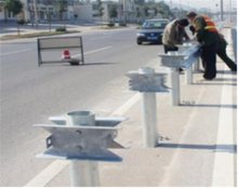 Top Accessed Guardrail Supplier / W beam crash barrier galvanized highway pedestrian guardrail