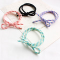 Colorful different types bow elastic hair tie C-hb222