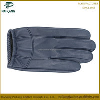 100% Genuine lambskin leather winter motorcycle gloves for man or woman