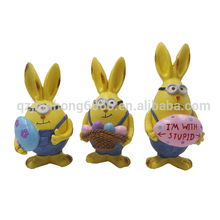 wholesale resin rabbit arts and crafts activities for kids