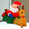 2015 Merry Christmas Day Inflatable Christmas decorated products make in china