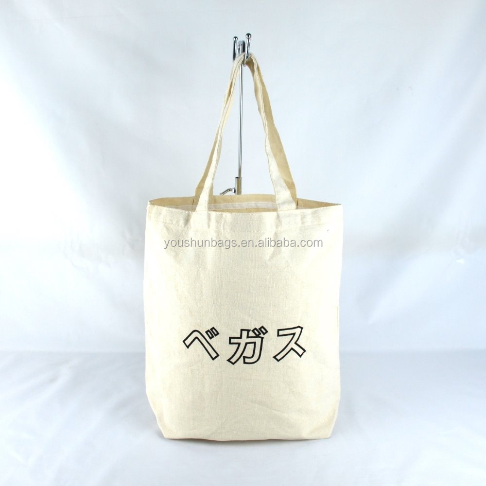factory oem blank tote bag for products promotion