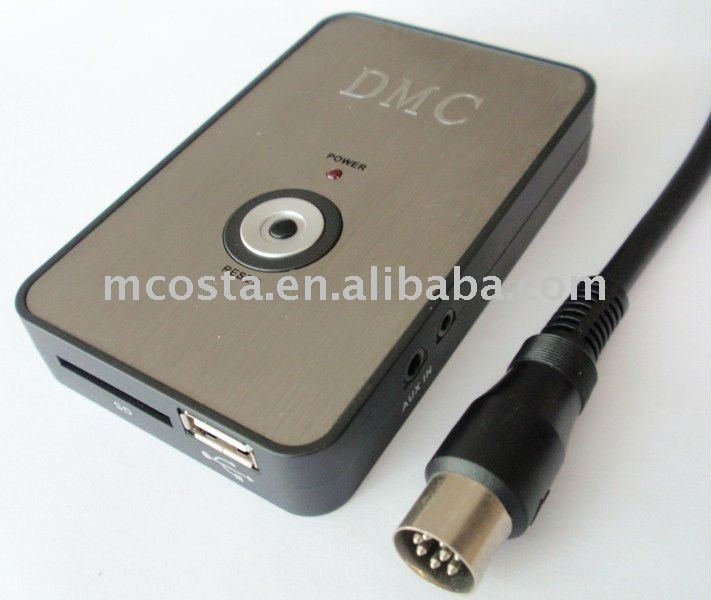 China Supplier--USB SD AUX Car Digital Music Changer for Alpine(CE Approved)