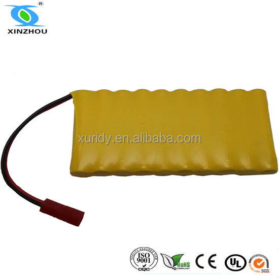 ni mh rechargeable battery pack aaa 650mah