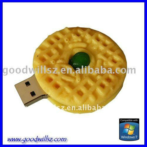 popular food shape usb flash drive with 1g-64g, CE /FCC approved
