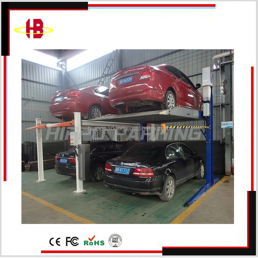 two post car parking elevator , car parking system