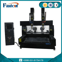 China Jinan factory made 3d stone cnc rock router machine for engraving stone machine type 1325