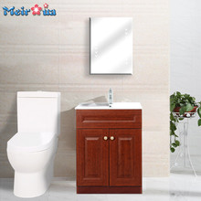 HF-S002 Zhejiang factory directly supplying classic bathroom cabinet with mirror
