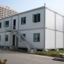high quality steel structure portable 20' container house store