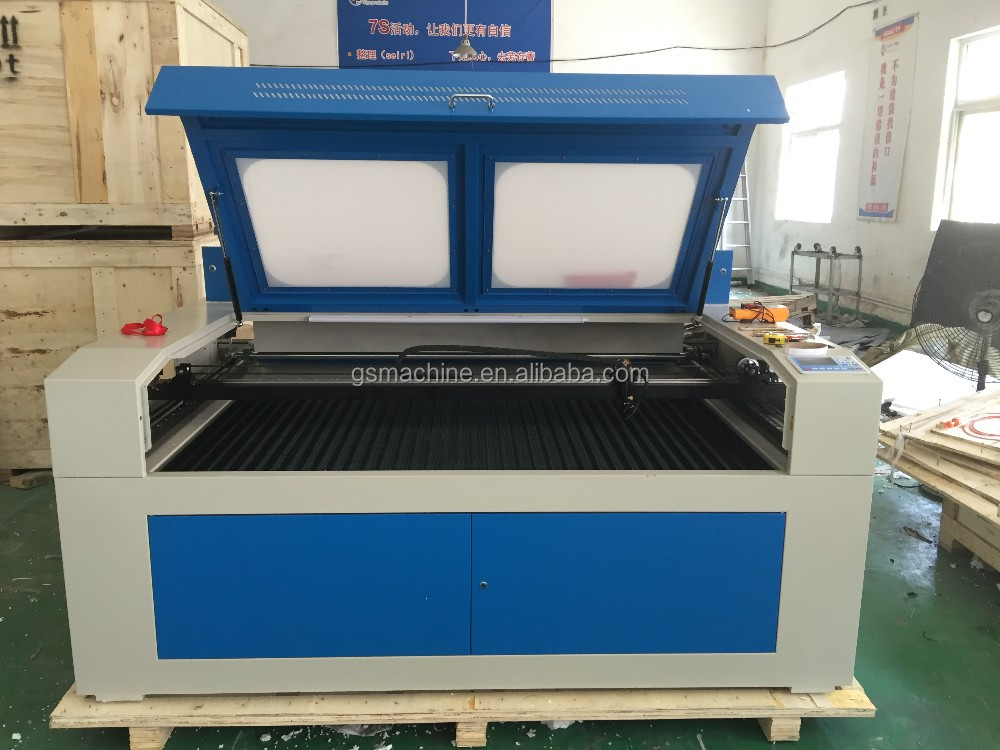 laser cutting machine with quality laser tube GS1490 1400*900MM cutting Acrylic