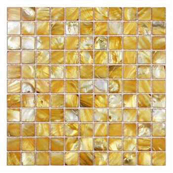 Decorstone24 Golden Backsplash Tiles Natural Seashell Pearl Mosaic Sale On Alibaba