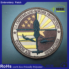 Emblem for Jackets Textile Custom embroidered patches/Wholesale embroidered patches