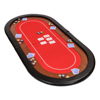 72 inch 2-fold oval poker table top with racetrack