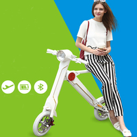 2016 New products 2 wheeled falcon scooter with aluminum bicycle frame