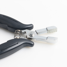 Black Pliers for Micro Rings Micro Beads Tubes Fusion Hair Extensions