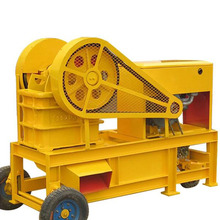 Hot Sale Unique Design Portable Small Mobile Stone Diesel Engine Jaw Crusher with Vibrating Screen and Jaw Crusher Plate