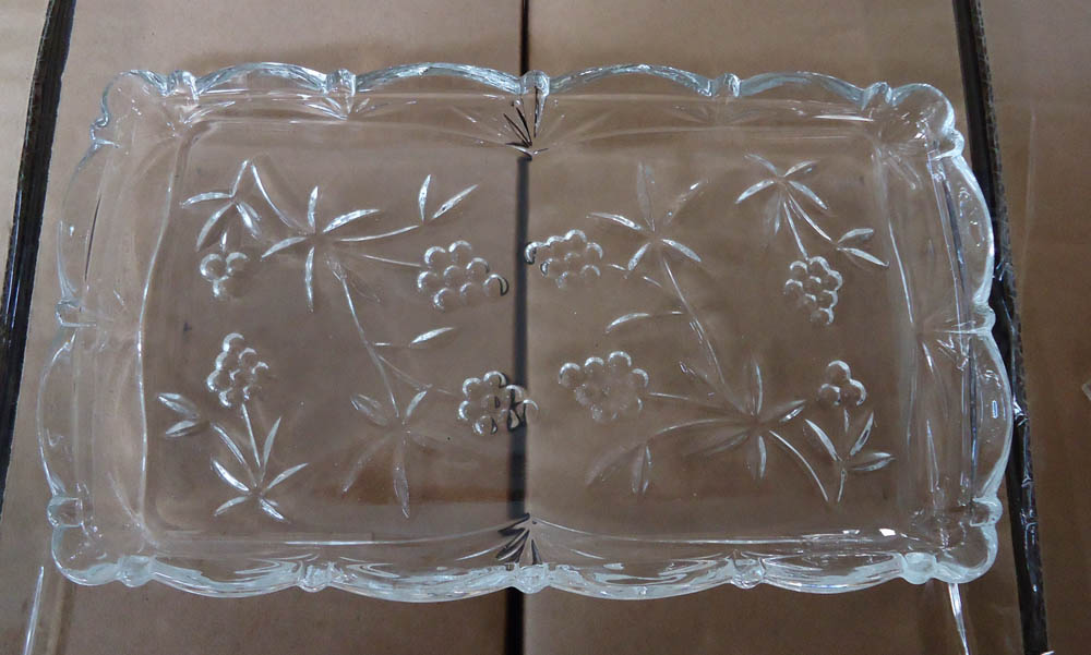 high quality  transparent clear glass  plate