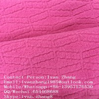 Chuangcai textile directly factory hot selling 100 polyester jacquard polar fleece fabric