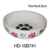 leopard print large capacity ceramic dog food and water bowl