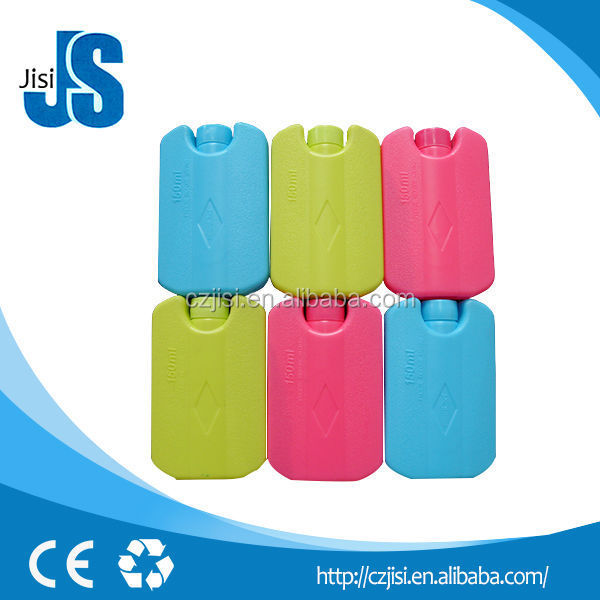 FDA Reusable plastic hard ice box, small ice cool gel pack for refrigerator,plastic ice box / ice cooler box / ice box