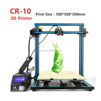 Large 3D Printing 500*500*500mm DIY 3D Printer Kits Digital Printer 3d machine CR-10 supply