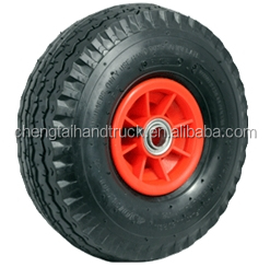 Top quality 250-4 plastic hub pneumatic wheel