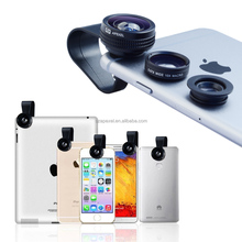 new products patented 2016 mobile accessories universal clip external camera 3 in lens for Iphone/galaxy s4
