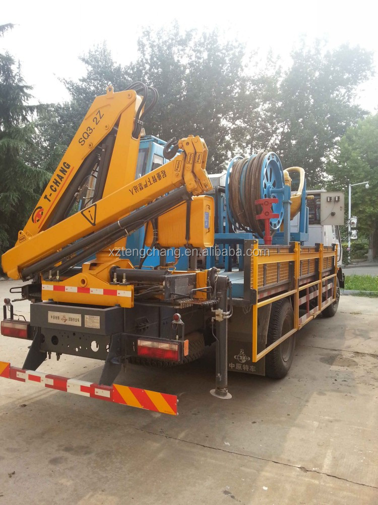 3.2ton new mini hydraulic arm portable cargo crane for truck
