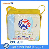 hot-selling pvc quilt bag steel wire bags with handles plastic bag