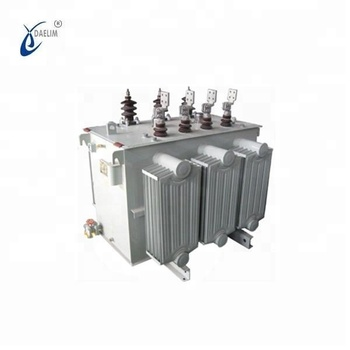 3 phase 10kv 500kva oil distribution transformer