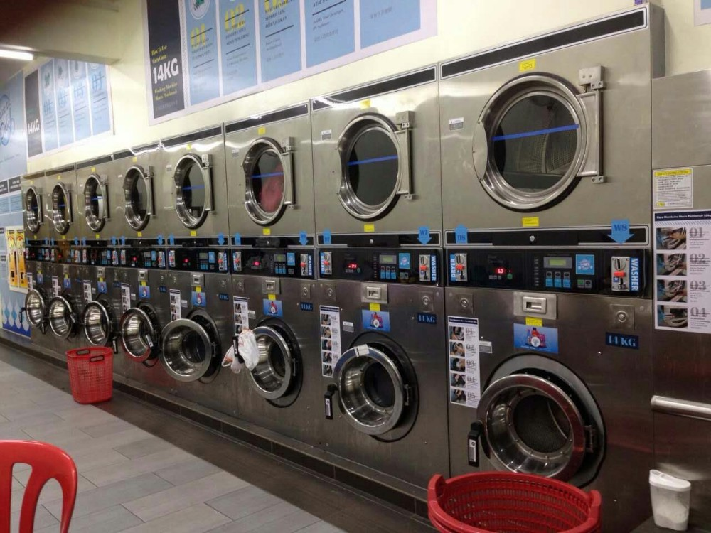washing and drying machine in one