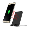 2017 New model Qi fast wreless charger,mini universal wireless charger for cell phone