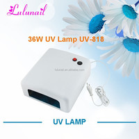 UV-818 Yiwu Liancai Plastic Wholesale Automatic Nail Curing Lamp 36W UV Gel Light Cheap Lamp