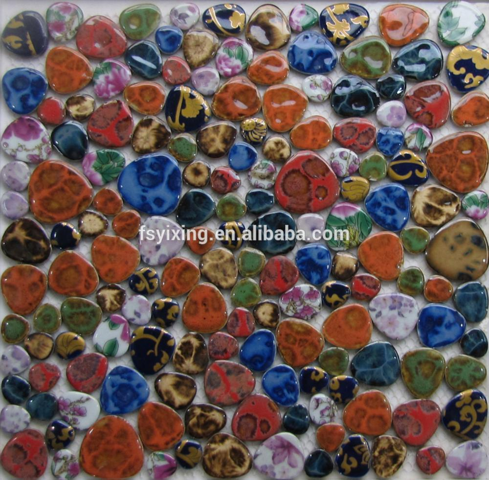 Famous China style porcelain mosaic tile for wall tiles and craft gift in wholesale price