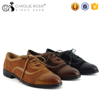 High quality camel casual dance shoes pictures of women flat shoes