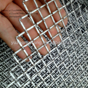3x3 100x100mm crimped wire mesh