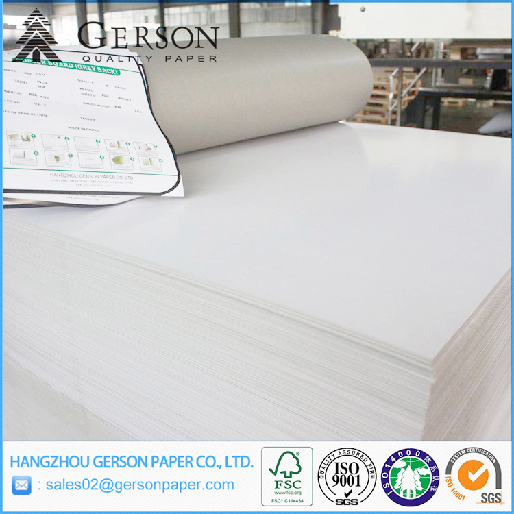 Fancy Korea Quality Clay Coated Paper Board Stocklot Pringting Paper Ningbo Fold Paper Board