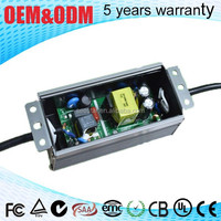 output dc 38-52v current 1200ma waterproof ip67 high bay led driver & 50w power led and driver