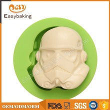 Wholesale Central Star Movie Wars Chocolate Mould Silicone