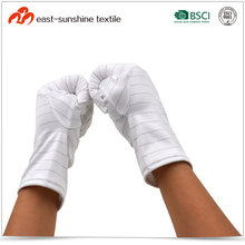 Polyester Antistatic Anti Dust Gloves