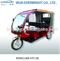fashion design different colour electric tricycle on sale