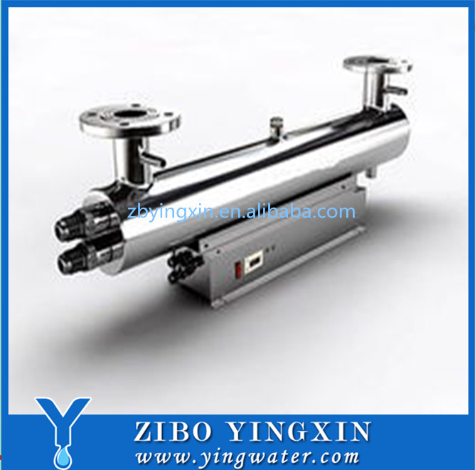uv light sterilizer for water treatment plant