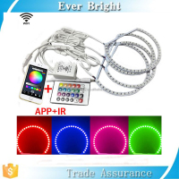 New generation app control color changing rgb angel eyes wifi angel eyes